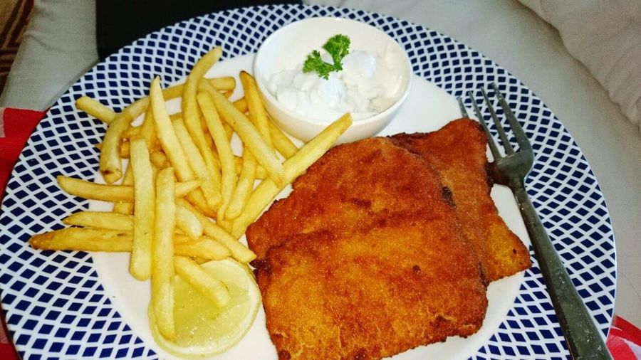 Fried fish and chips Fishandchips