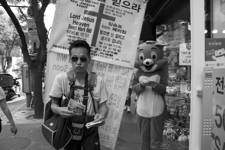 Angry EyeEmNewHere Seoul South Korea Criminal Insadong Religion Streetphotography Surrealism