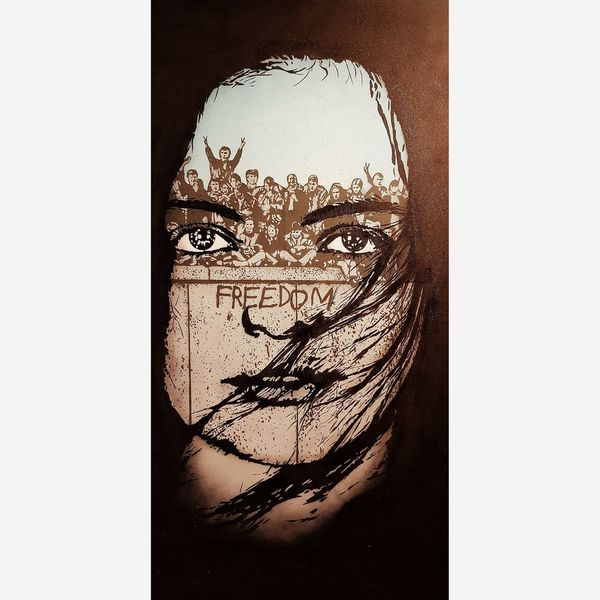 FREEDOM Icy&sot Human Face Surreal Drawing ArtWork Surrealism EyeEmNewHere