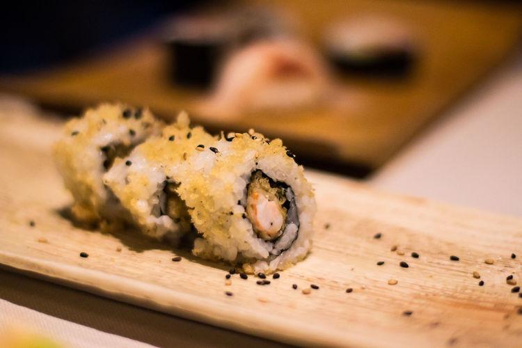 Florence Life Food And Drink Japanise Food Just Eat Prawns Roll Temptation Tempura Prawns Tempuraroll