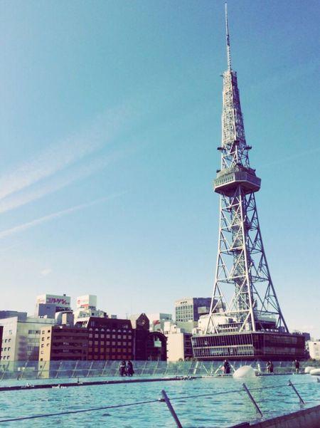 天井こうなってるのね Nagoya Oasis21