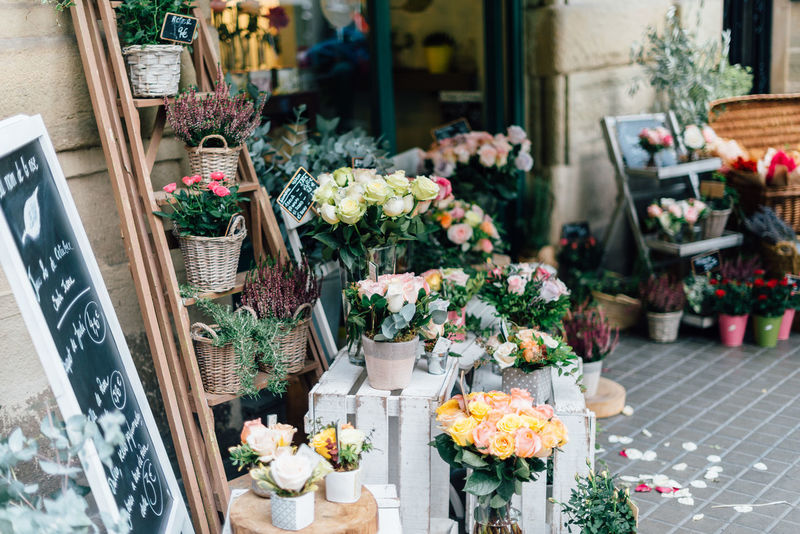 Beauty in flowers Barcelona Beauty In Nature Bouquet Business Business Finance And Industry Choice Day Florist Flower Flower Head Flower Market Flower Shop Freshness Market Nature No People Outdoors Retail  SPAIN Store Variation
