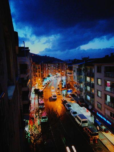 Turkey Izmir City Citynight Turkeyphoto Photographer