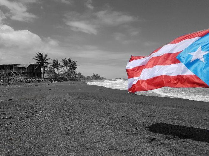 Flag Cloud - Sky Patriotism Outdoors Sky Day Nature