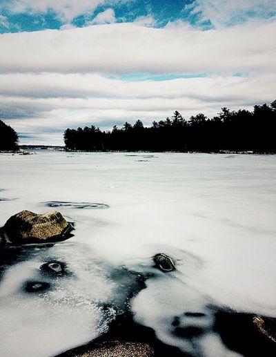 Taken in maine IPhone Photography Iphone6s Sebagolake First Eyeem Photo