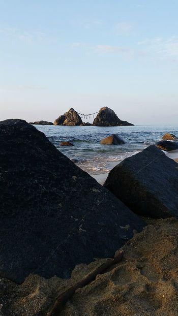 The KIOMI Collection Japan Shinto Shrine Beach Rock