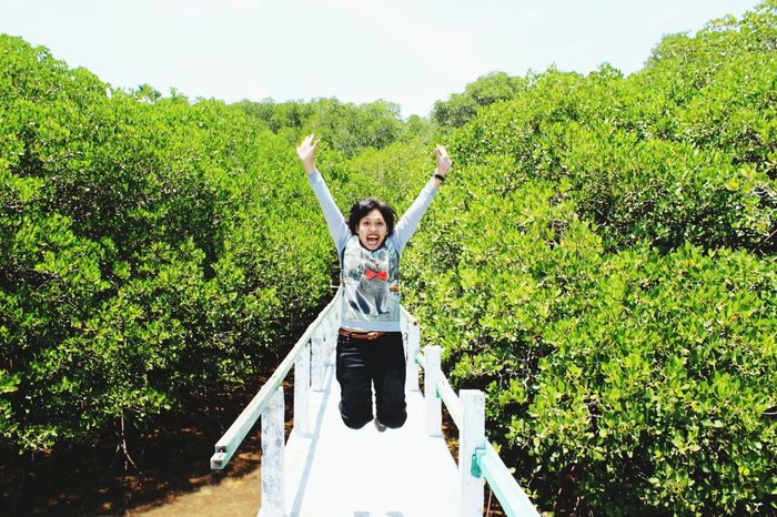 Life is good From My Point Of View Jumping People Enjoying Life mangrove trail