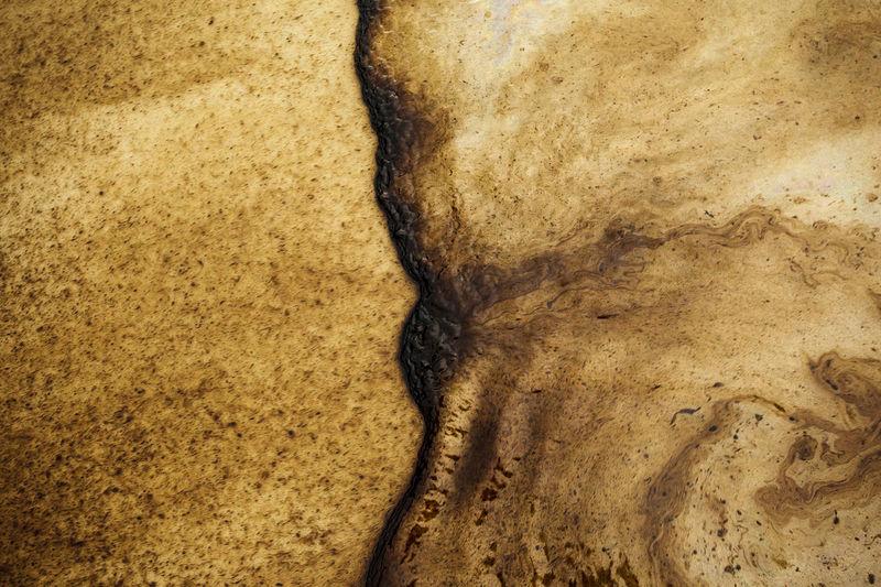 Full frame shot of water on rock