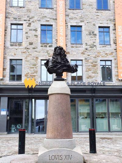 Louis XIV Histoire Placeroyale Vieuxquebec Quebec Canada