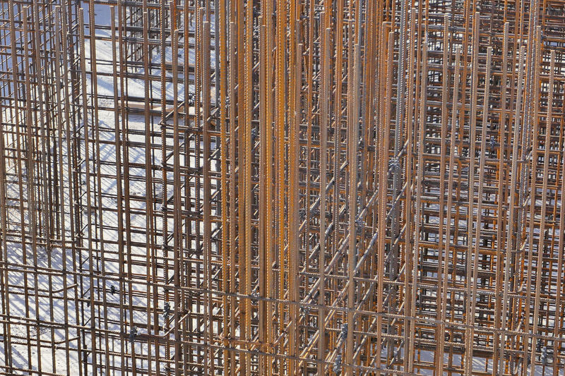 Full frame shot of ceiling at construction site