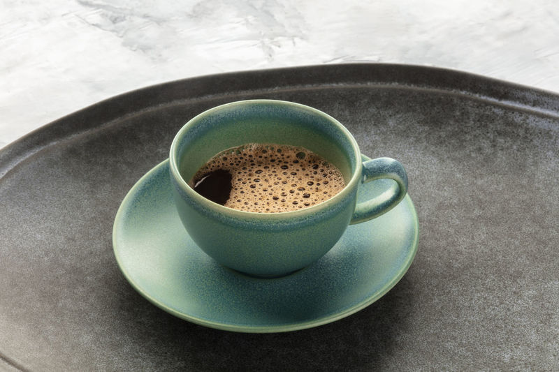 A cup of black
