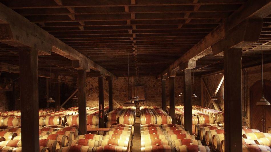 Wine Cellar vinery Napa Valley