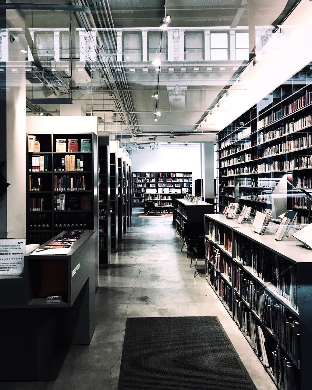 shelf, bookshelf, library, indoors, book, collection, large group of objects, abundance, retail, choice, bookstore, store, education, literature, architecture, day, no people