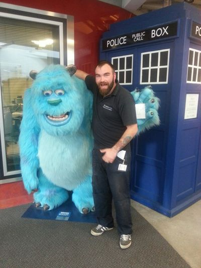 Sulley Monsters INC Bournemouth Uni