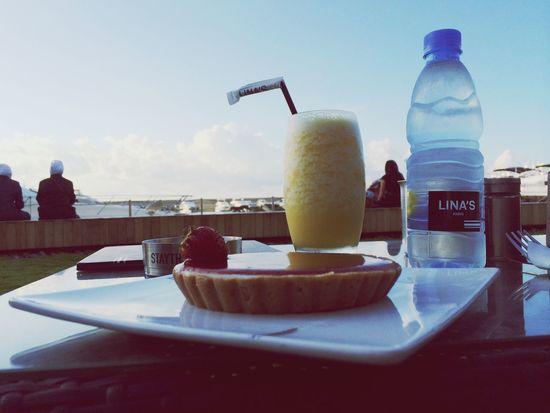 Marina Bayview Dessert Juice Clouds And Sky Lebanon Beirut Zaytounay Lina's Food