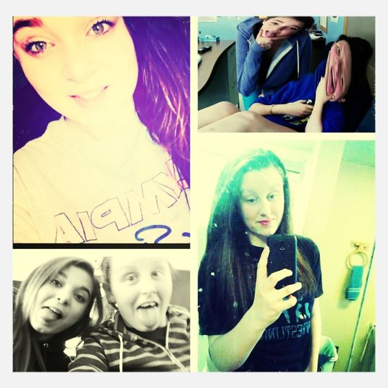 We have Been best friends for 3 years now an she's like my sister & I love her<3