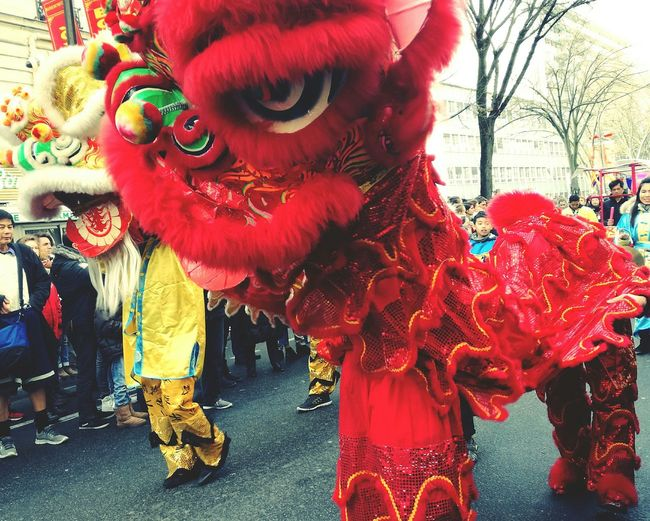 Nouvel An Chinois ! 🗼😽 Celebration Party - Social Event People Outdoors Paris Chinese New Year Nouvel An Chinois 2017 Adventures In The City