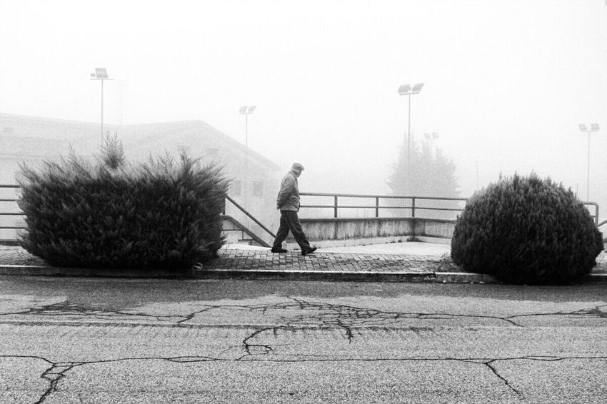 Monochrome B&W Collective Blackandwhite Photography Monochrome _ Collection Urban Landscape Man Fog Streetphotography Streetphoto_bw