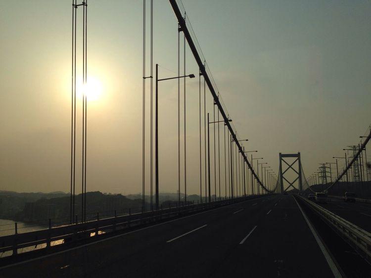 Sunset Truck Hiway Bridge