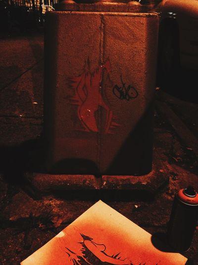 Stencil Street Art Sowlo 4am