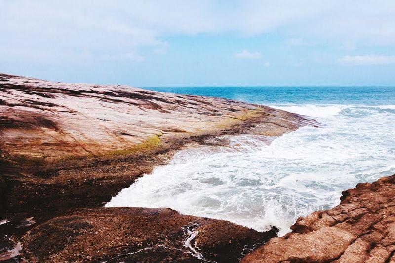 "Q ""Quit"". Seaside Sea Waves Seascape Seashore Coast Coastline Ocean Beach Beachphotography Vacation"