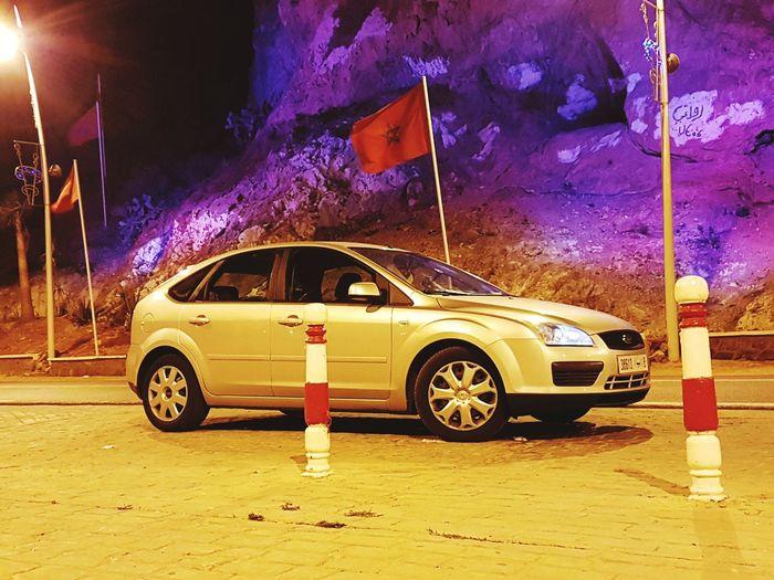 Car Night Fordfocus Oujda @morocco Saidia Beach Frontièremarocalgerie