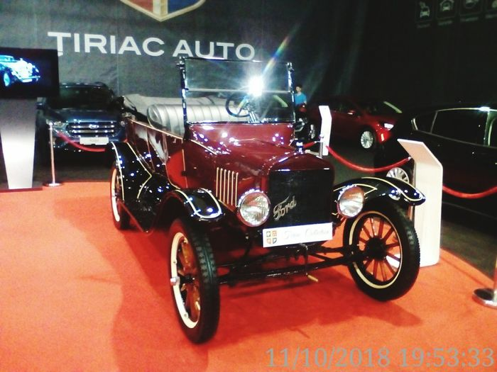"""""""Oldies but Goldies"""", Ion Tiriac Collection, at SAB-2018 Ion Tiriac Collection SAB - 2018 Oldies But Goldies Red Vintage Car Collector's Car"""