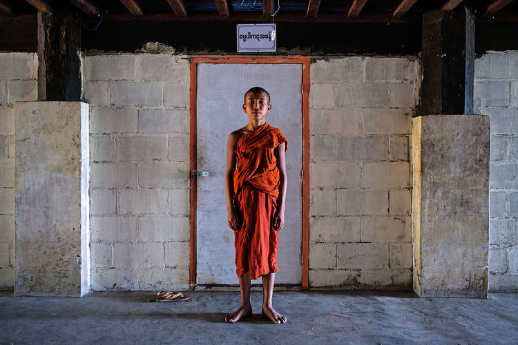 A young novice in a Buddhist monastery in Myeik, Myanmar. Another photo taken with a Fujifilm X-T2 camera during my recent stay in Myanmar. ASIA Travel Photography FUJIFILM X-T2 Fujifilm_xseries Myeik Monastery Myanmar Fujifilm Buddhism Portrait Novice Travel The Portraitist - 2017 EyeEm Awards