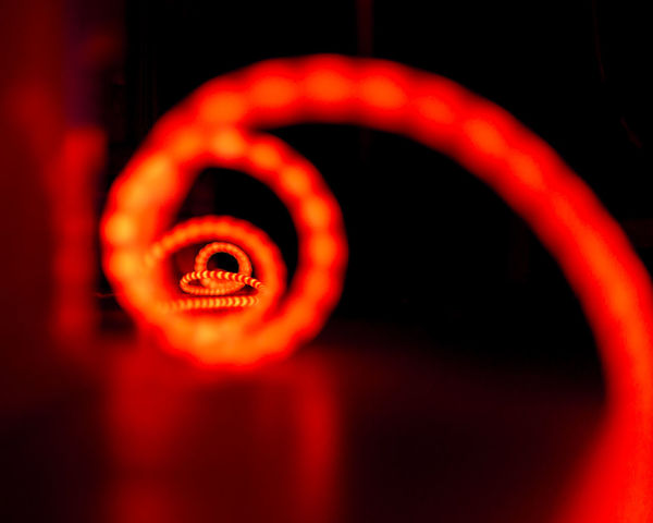 Dark Light Lights Red Abstract Close-up Darkness And Light Geometric Shape Geometry No People Red Red Color Spiral EyeEm Ready
