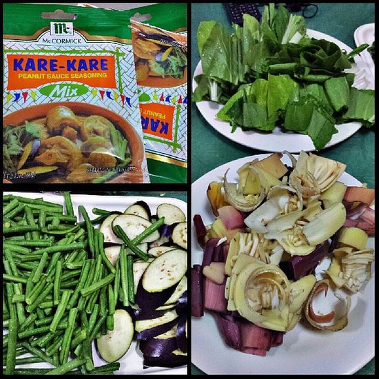 About to cook! Pinoy Kare -kare Nofilter Igerscebu2013 igers iloves4