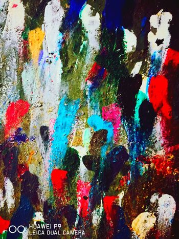 colours Multi Colored Backgrounds Full Frame Paint Abstract Textured  Variation Art And Craft Creativity
