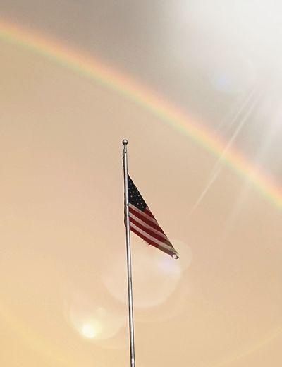 Flags Merica Simplicity Sky Porn Rainbow Beauty Old Glory