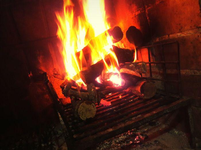 El fuego es sagrado ❤ Fire Argentina San Luis - Argentina Red Warm Colors Warm Light Light