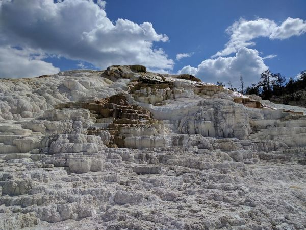 Cloud - Sky Mining Sky Landscape Quarry Outdoors Nature Day Industry No People Salt - Mineral Metal Industry