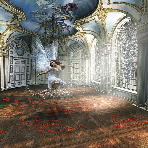Artdigital Women Fantasy Photoshop My Artwork Surrealist Art Poesie Home Interior Dance