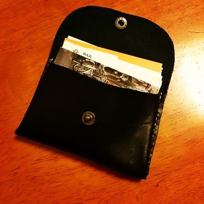 Card Case2 Leather Handcraft