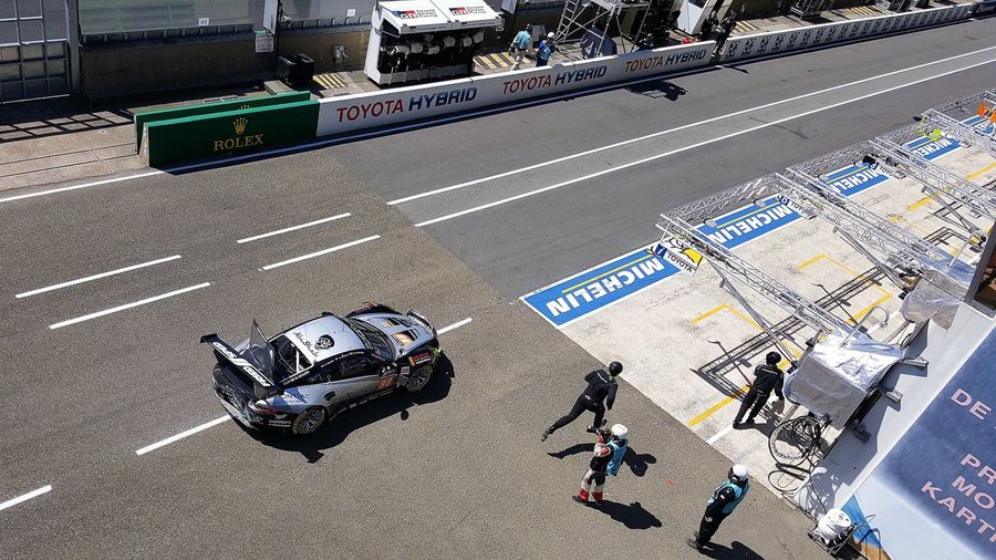 24 Stundenrennen 24 Hours Of Le Mans 24h Le Mans Le Mans Le Mans 24 Porsche Accident Outdoors Unfall