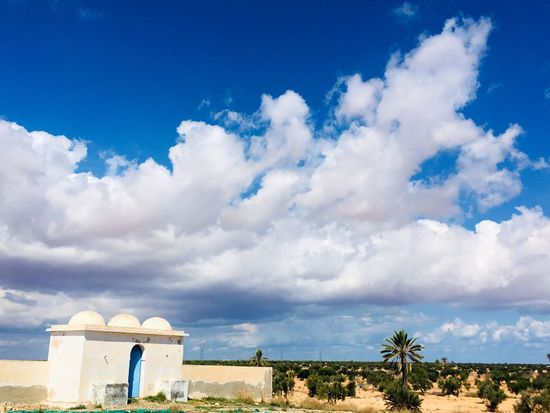 Beauty in nature Cloud - Sky Day Blue Nature Asi_phptography Djerba  Brizigou Tunisia