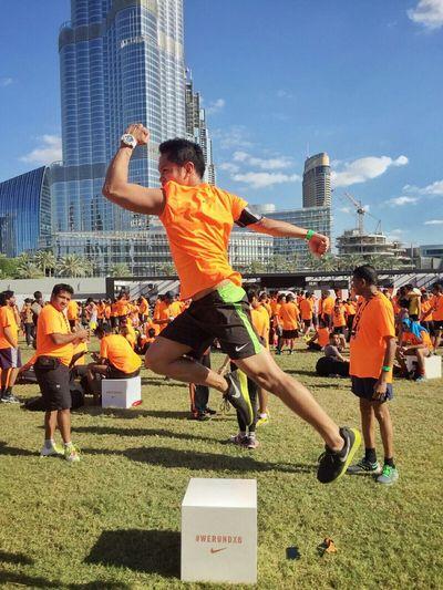 We run Dubai 2015 10k finisher. Werundxb 2015 By Nike Werundxb Nike Nikerunning Nikerunningmiddleeast Nikeplus DXB Dubai