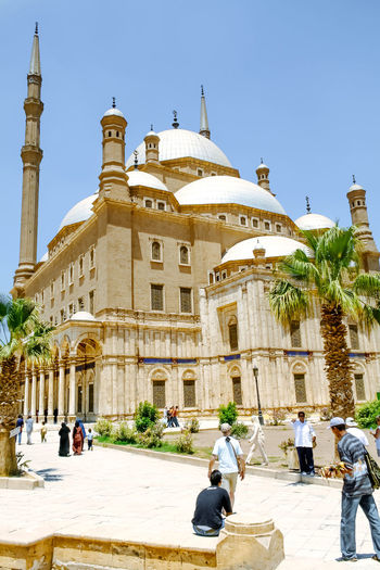 The great Mosque of Muhammad Ali Pasha. Cairo. Egypt. Africa Architecture Cairo Citadel Egypt Islam Islamic Architecture Landmark Mosque MUHAMMAD Religion Tourism Travel