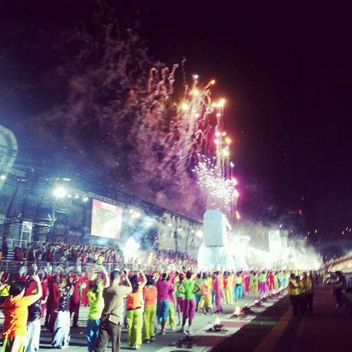 Chingayparade Chingay2013 Fireworks