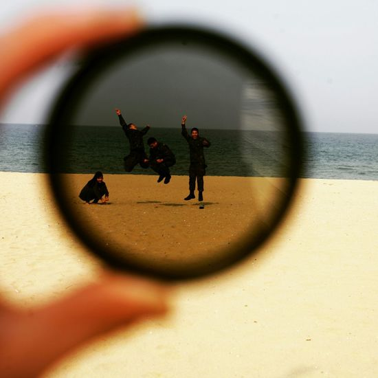 Enjoying Life Life Is A Beach Cheese! Walking Around Sunny Day Taking Photos Jump Jumping Shot Circle Frame Traveling