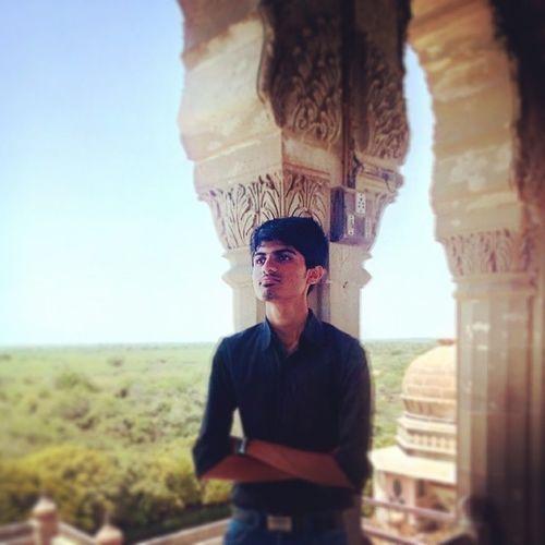 Me.. At Vijay Vilaas Palace, Mandvi... Palace Portrait Mandvi Heritage