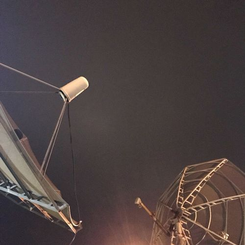 No People Technology Low Angle View Electricity  Sky Outdoors Nature Close-up Astronomy Satellite Dishes Night