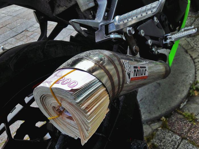 Exhaust Mivvgp Money Kawasaki Ninja300 Kawawest Babawest34 Kurucusubenim