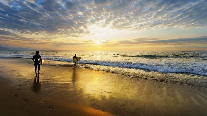 Final Days Beach Capture The Moment Surfing BasqueCountry Coast Basque