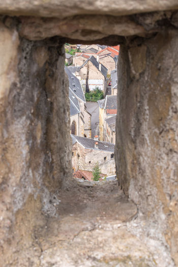 Alley Architecture Building Exterior Built Structure City Life Day Hole House Lothringen Medieval Narrow No People Old Town Old Town Rural Scene Town