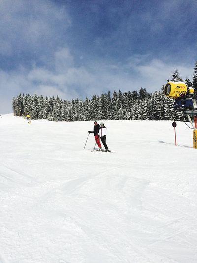 Snow Sports Febuary 25th 2015, Saalbach, Salzburg, Austria Saalbach Hinterglemm Salzburg Austria Oostenrijk Skiing