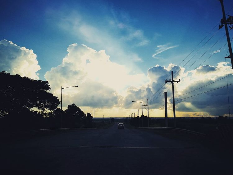 Traveling Cloud - Sky Horizontal Outdoors Philippines Taking Photos