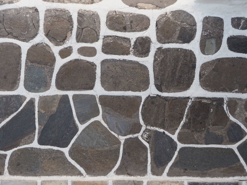 Design Detail Directly Above Ground Grout High Angle View Pattern Pavement Repetition Shape Sidewalk Textured